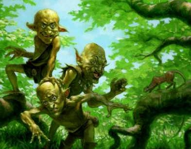 Goblins in the trees